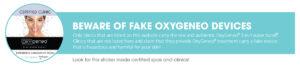 Geneo fake device warning